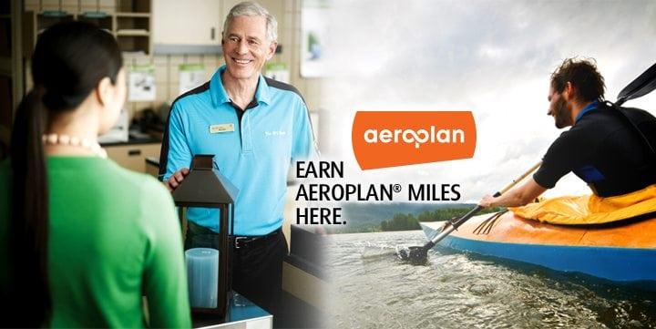 Earn Aeroplan Miles