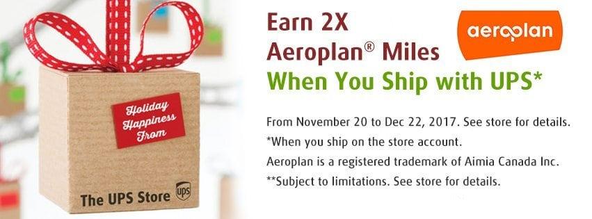 Aeroplan Promotion